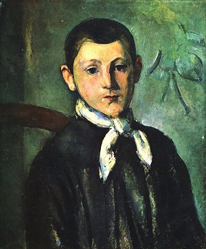 Portrait des Louis Guillaume Paul Cezanne Kunstdruck