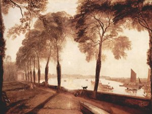Mortlake Terrace Turner Wandbild