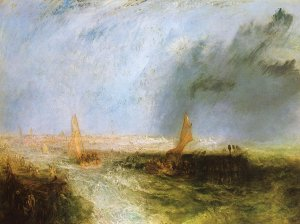 Ostend William Turner Leinwandbild