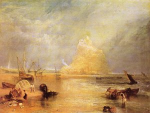 St Michaels Mount Cornwall William Turner Leinwand